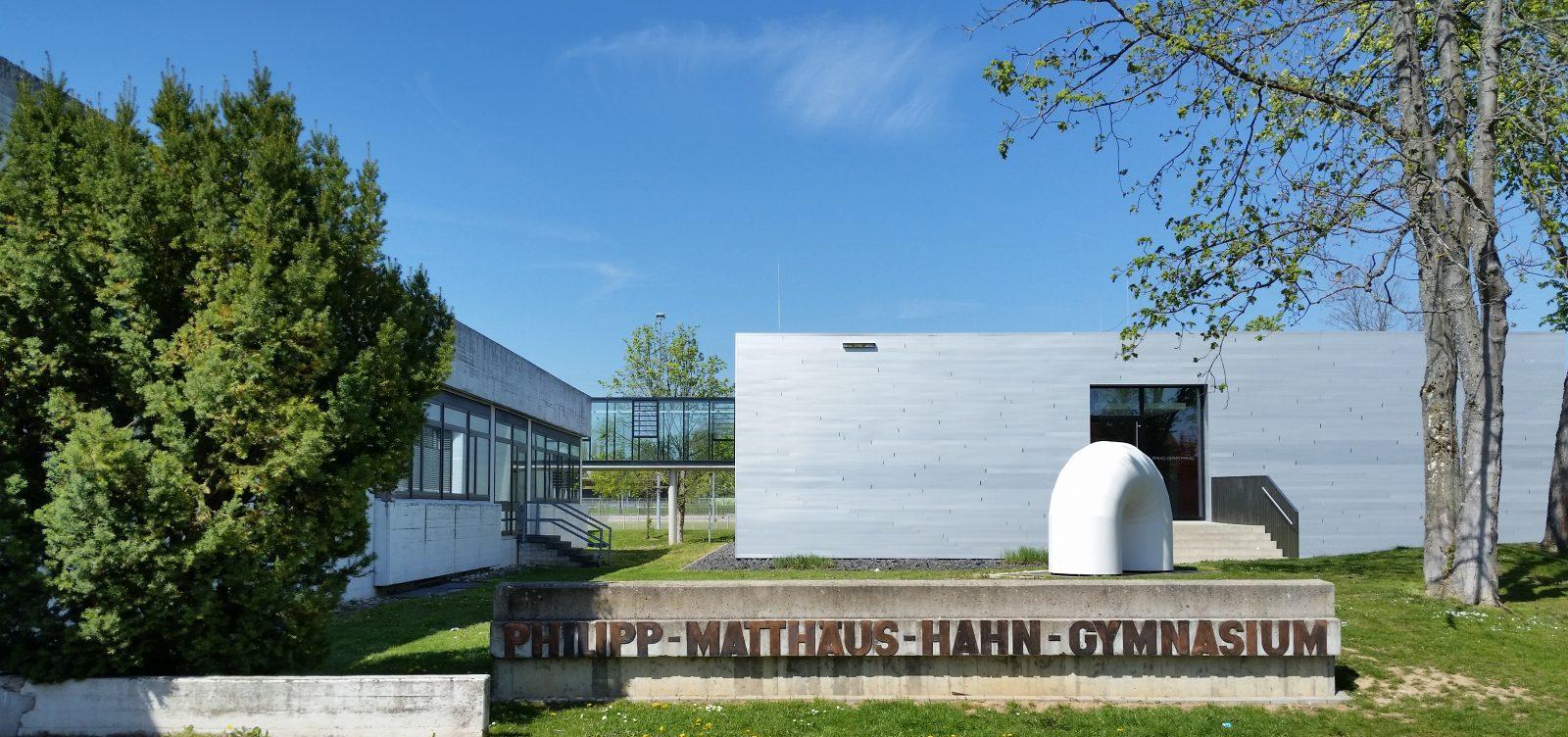 Philipp-Matthäus-Hahn-Gymnasium (PMHG)